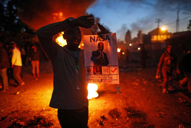 Image: Kenya general elections results aftermath