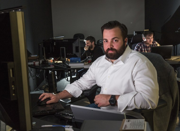 Image: John Hultquist at Cyber Espionage firm iSight