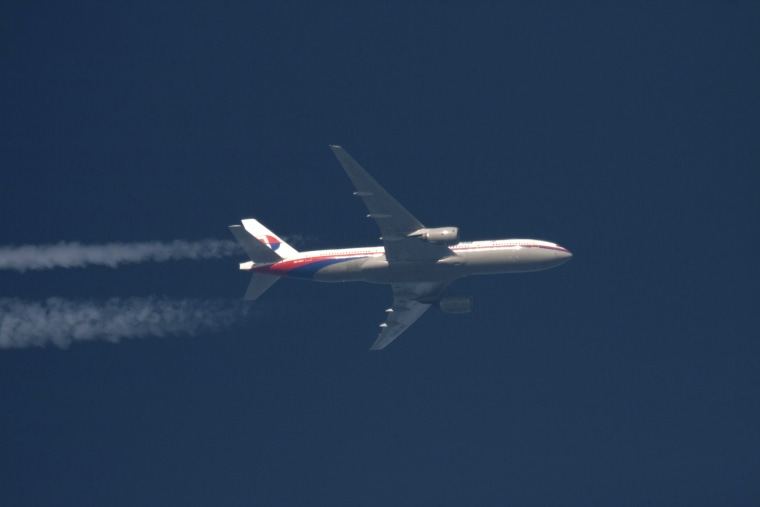 Image: File picture of the missing Malaysia Airlines Boeing 777