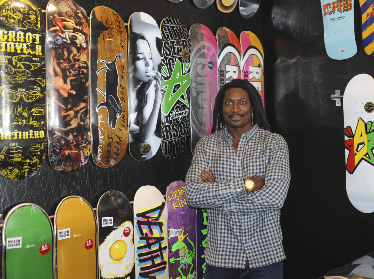 Neftalie Williams lectures at the University of Southern California and works with the U.S. State Department to bridge communities through skateboarding.