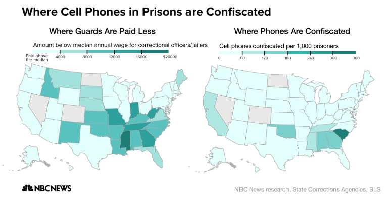 Southern Prisons Have a Cellphone Smuggling Problem
