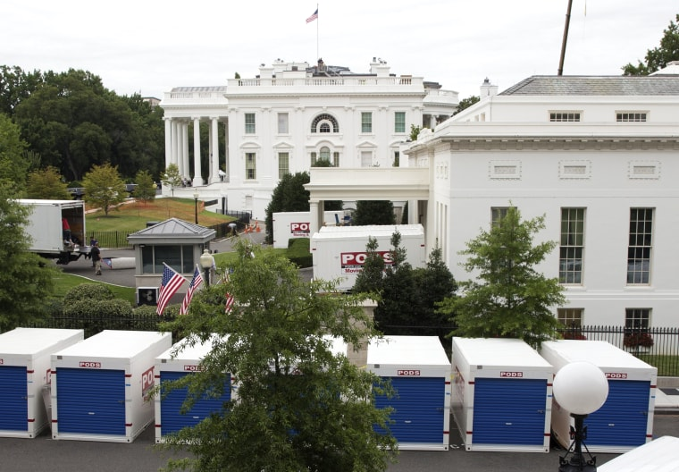 Image: Renovations at the White House