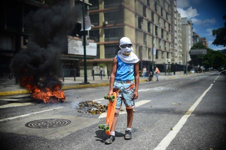 Image: VENEZUELA-CRISIS-CONSTITUENT-ASSEMBLY-PROTEST