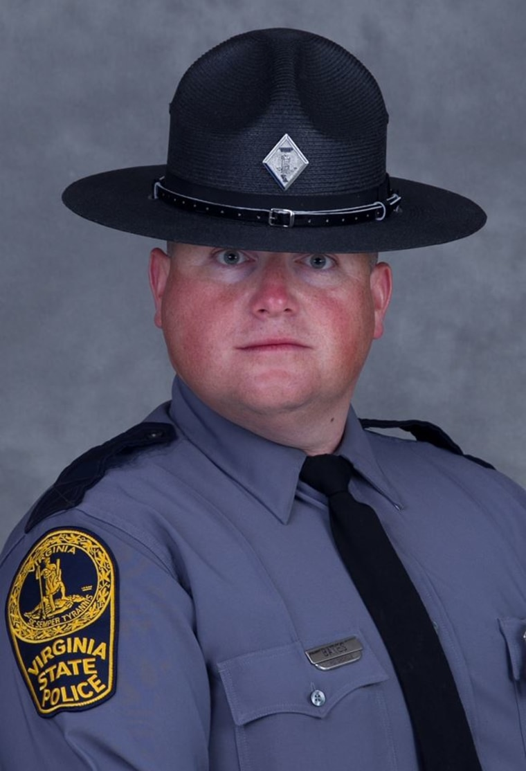 Virginia State Police Trooper-Pilot Berke M.M. Bates.