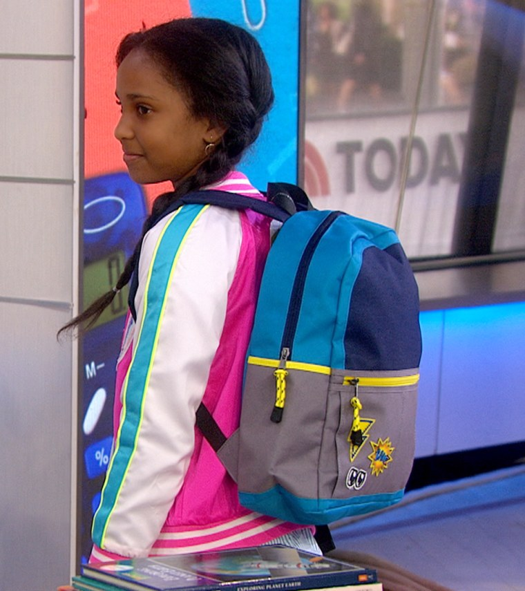 Back to school clothes on TODAY