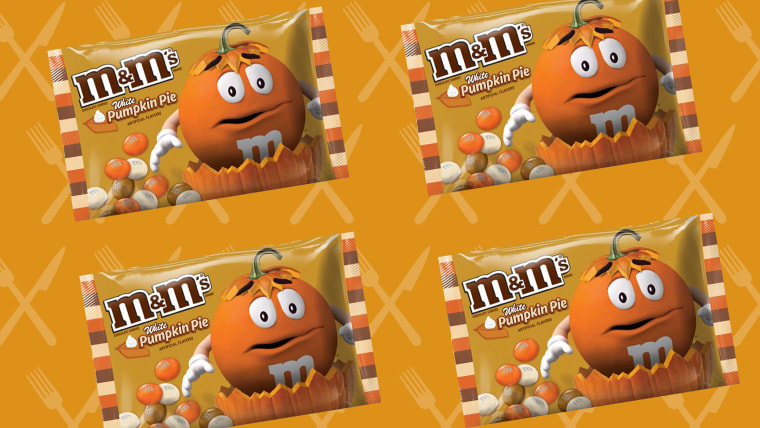 Pumpkin Pie M&Ms