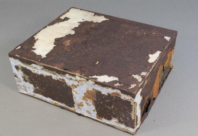 Conservators find 100 year old fruit cake on Cape Adare, Antarctica
