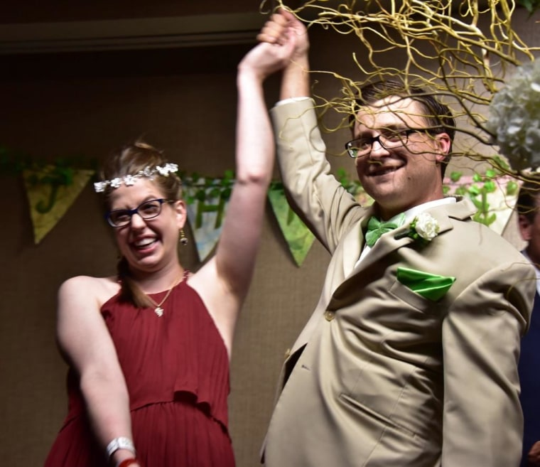 Couple marries in the hospital hours after daughter is born early