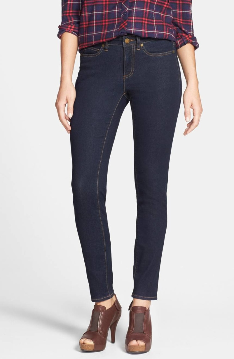 Blake Lively Skinny jeans - dark blue