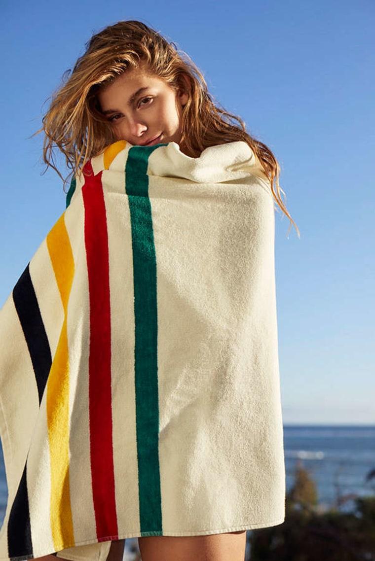 Pendleton striped beach towel