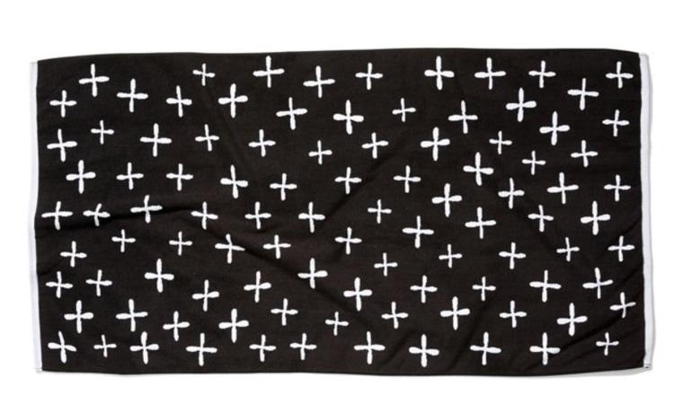 Erin Fetherston beach towel cross pattern One Kings Lane
