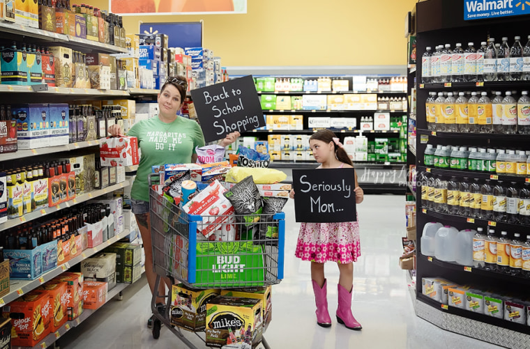 Jessi Kittrell and her daughter, Bailey, 7.