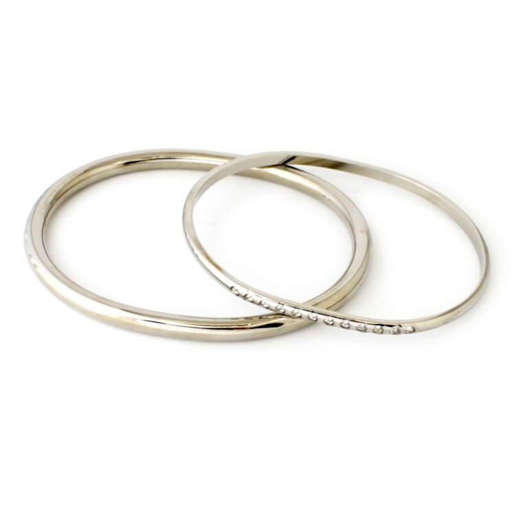 Around and Around Bangle Set