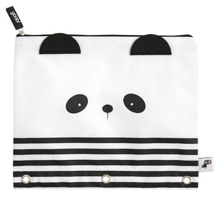 Panda binder zip case
