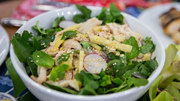 Sheldon Simeon's Huli Huli Chicken + Huli Huli Chicken Salad