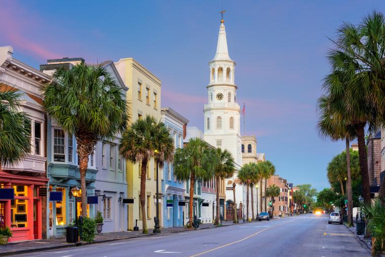 Charleston, South Carolina, friendliest city in the US