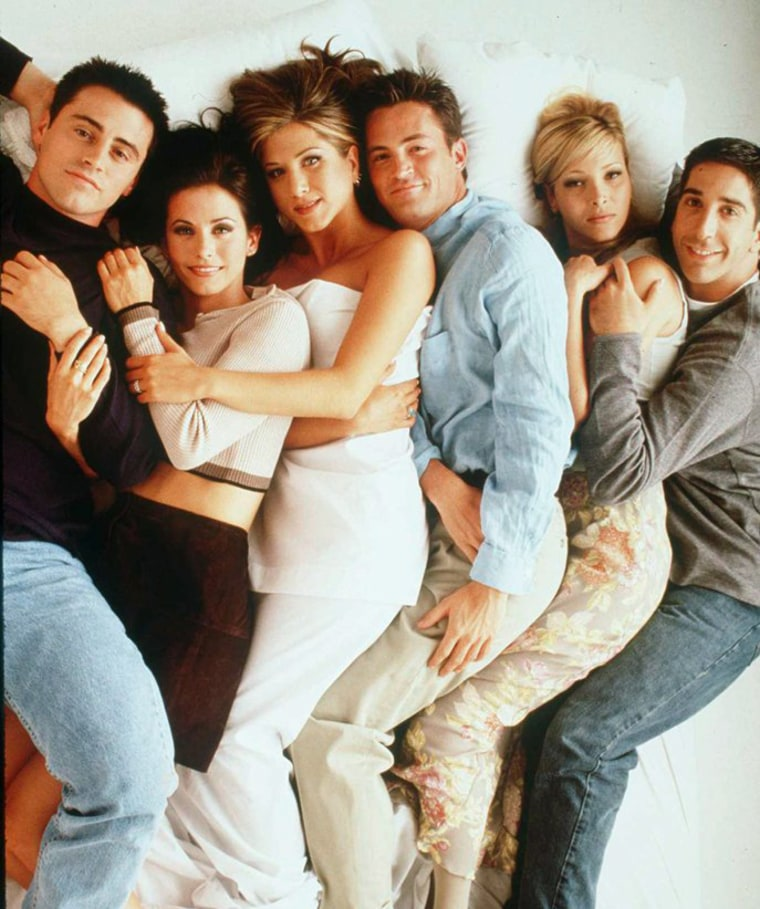 """Image: 1996 THE CAST OF THE TV HIT SERIES """"FRIENDS"""""""