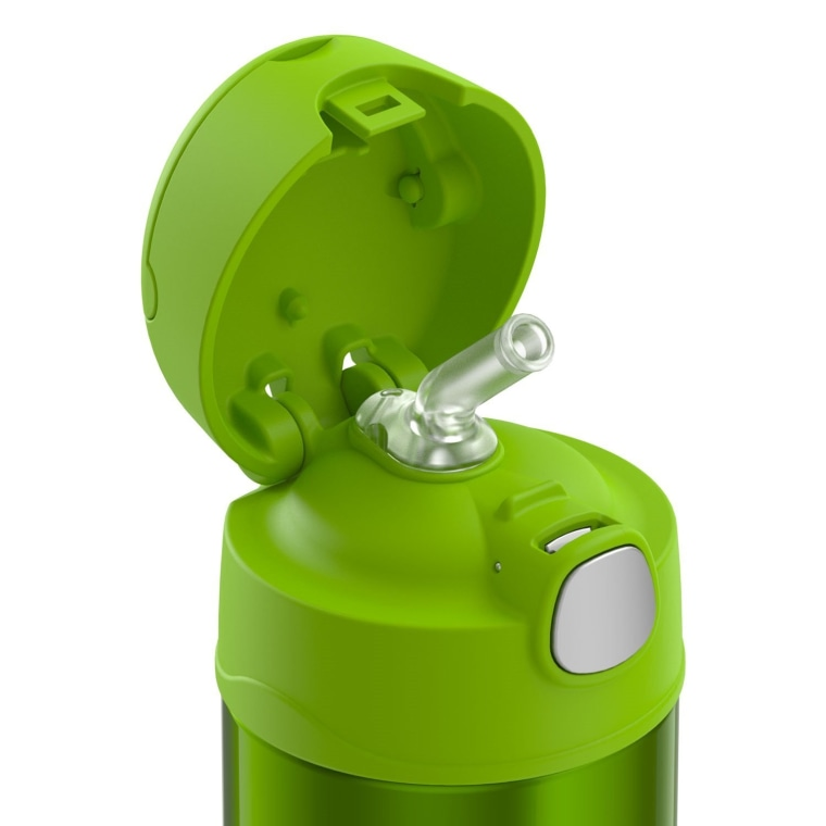 Thermos straw top