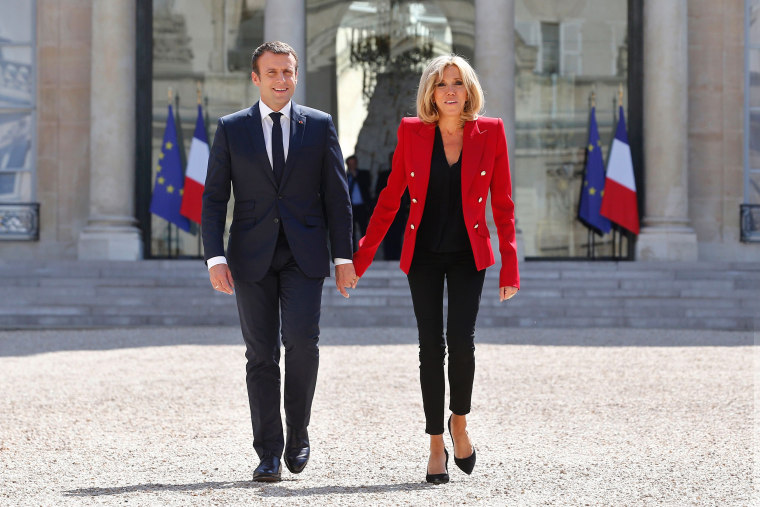 FILES-FRANCE-PRESIDENT-GOVERNMENT-MACRON-100DAYS