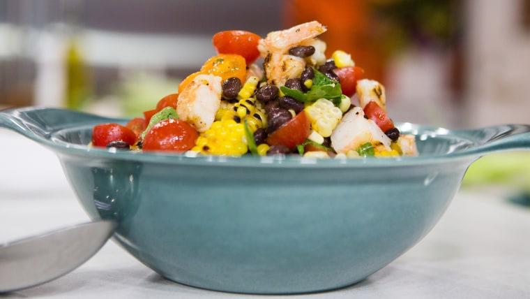 Al Roker's Grilled Shrimp and Corn Salad