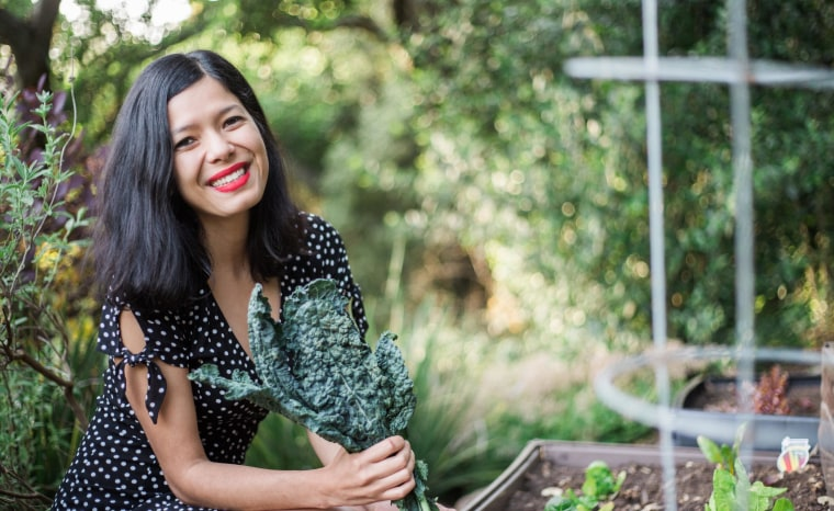 Toni Okamoto runs Plant Based On a Budget, a website for vegan meal planning and recipe sharing.