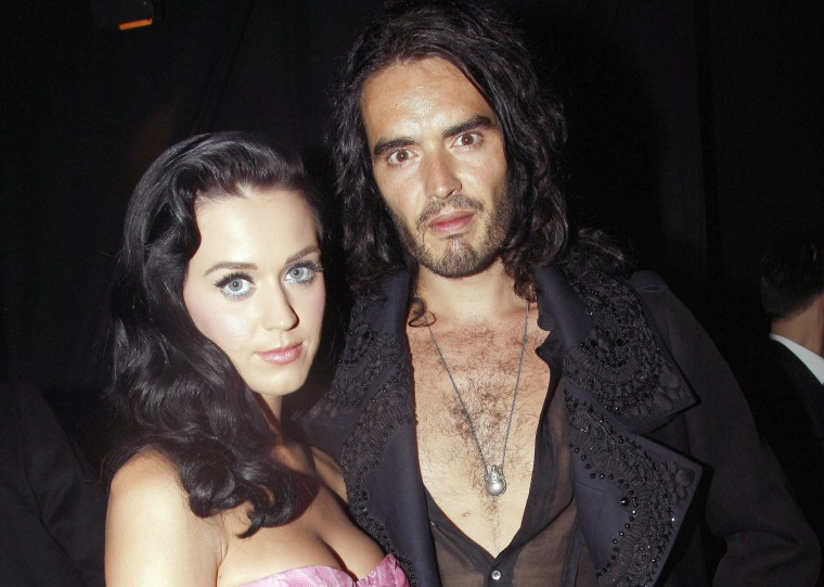 Image: Katy Perry and Russell Brand