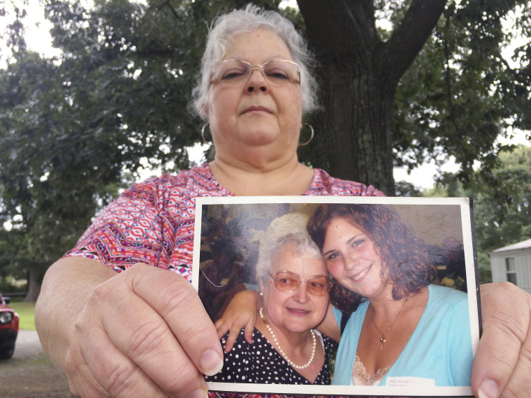 Image: Susan Bro, the mother of Heather Heyer