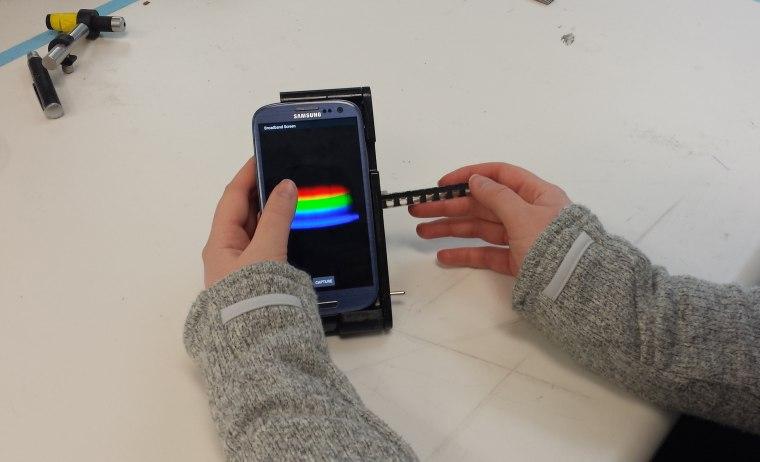 Image: spectral analyzer