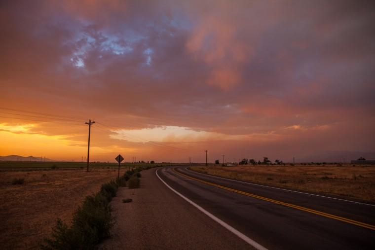 Image: Sunset Arizona