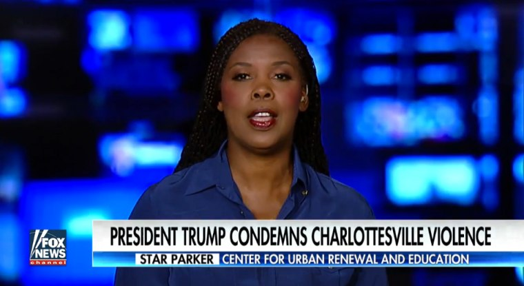 "Star Parker appears on ""Fox and Friends."""
