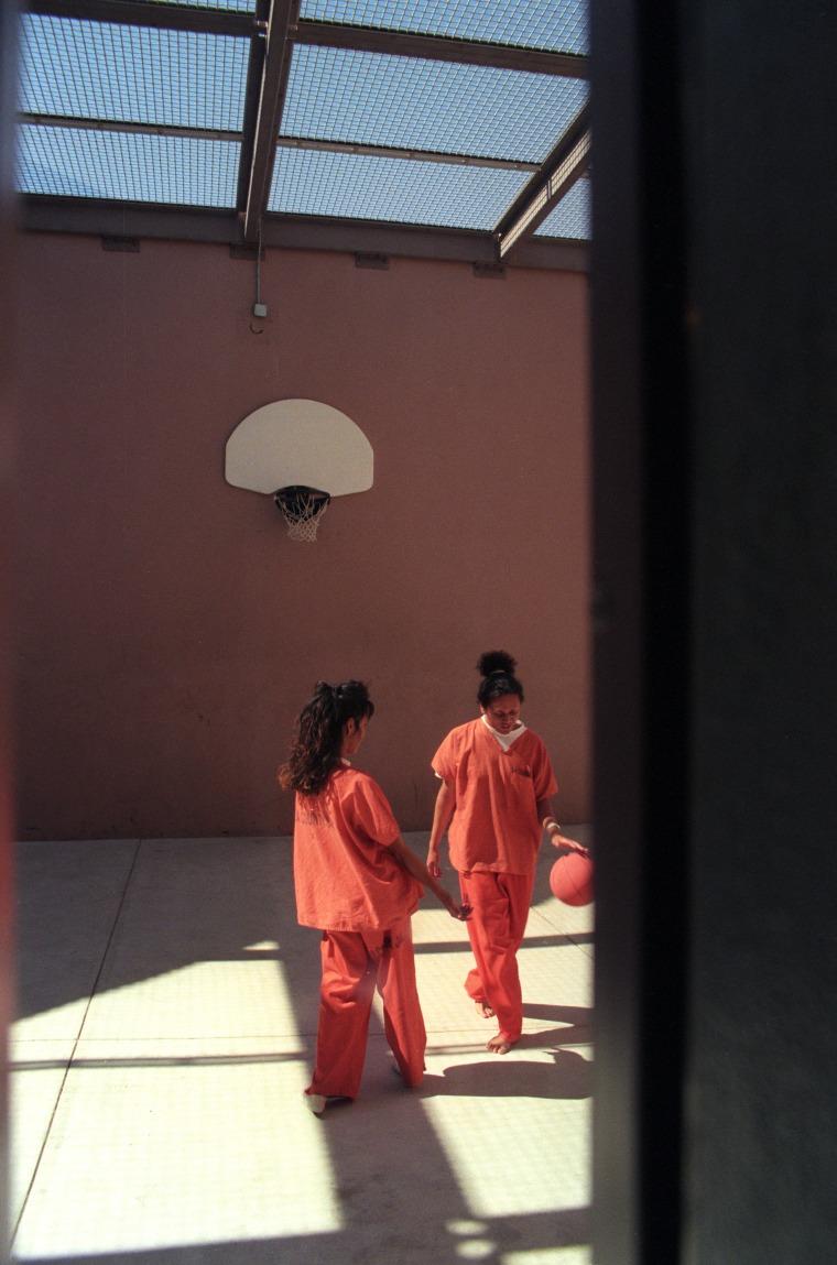Image: Two transgender prisoners