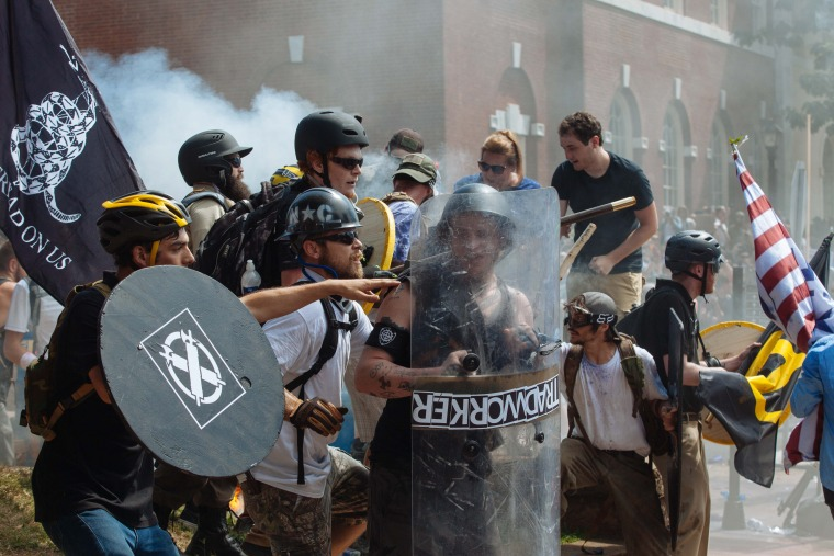 Image: Chaos in Charlottesville