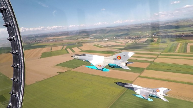 Image: The U.S. Air Force stages drills alongside Romanian MiG-21s.