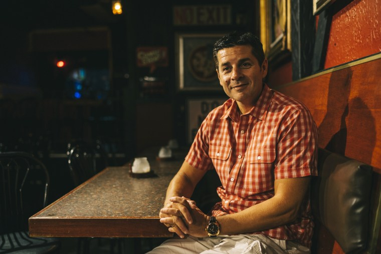 Image: Dean Obeidallah poses for a portrait at the Comic Strip
