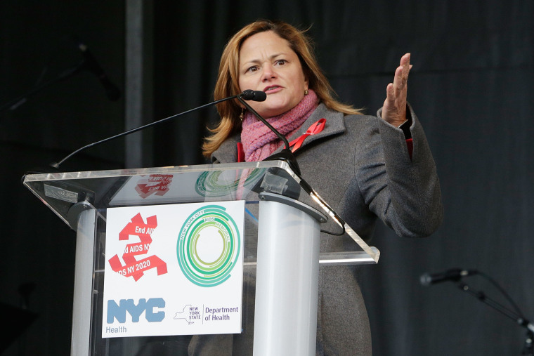 World AIDS Day 2016 at the New York City AIDS Memorial