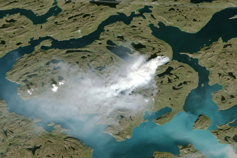 Image: Greenland Fire