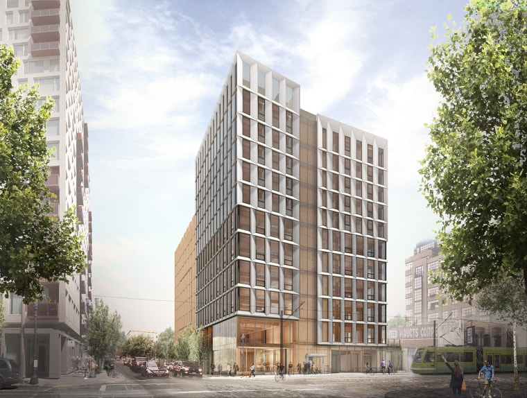Framework is slated to become the first mass timber high-rise in the U.S.