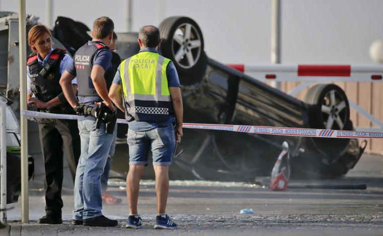 Image: Terror Attack in Cambrils