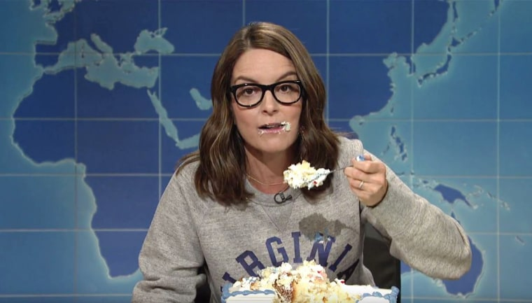 "Tina Fey on ""Weekend Update"""