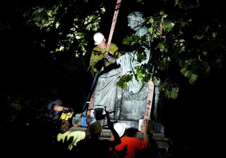 Image: Roger Brooke Taney Statue