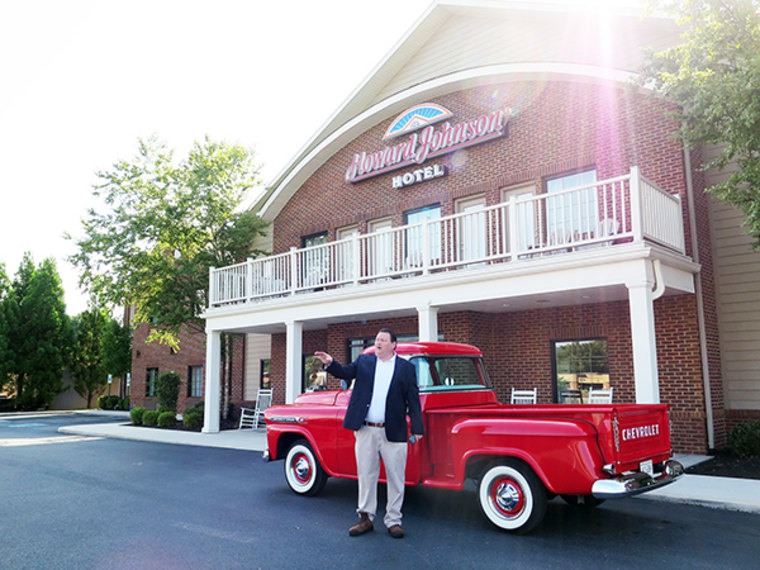 """""""I truly believe this place will be packed,"""" said George Thacker, owner of the Howard Johnson motel."""