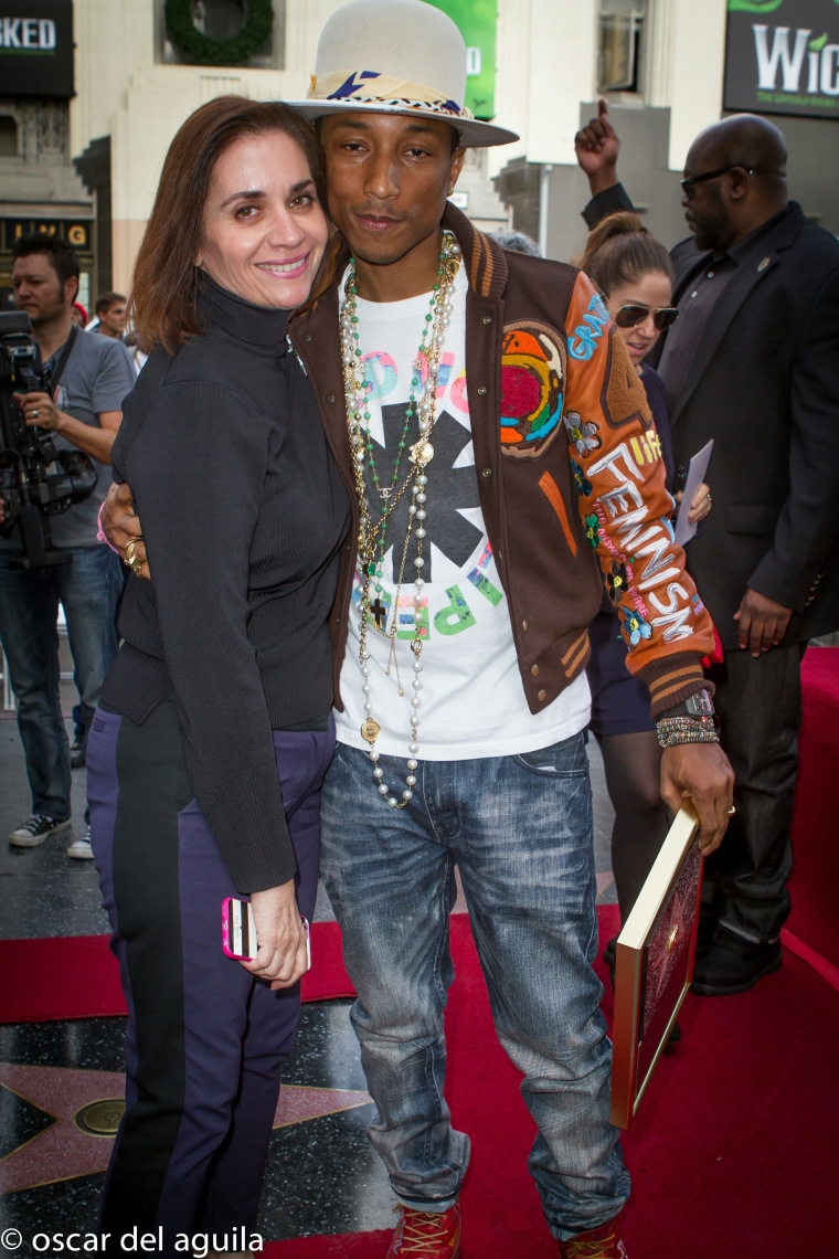 Image: Ana Martinez, Pharrell Williams