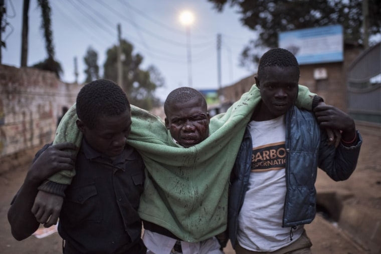Image: BESTPIX Nairobi Tensions High As Election Result Imminent