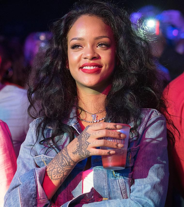 Rihanna, cuticle tattoos