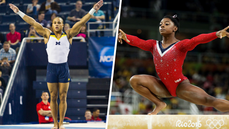NCAA GYMNASTICS: APR 12 NCAA Men's Gymnastics Championships / Gymnastics - Artistic - Olympics: Day 10