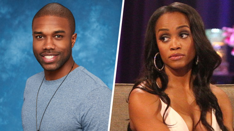 "'Bachelorette' Rachel Lindsay's angry response to comments contestant Demario Jackson made about Rachel being only ""attracted to white men."""