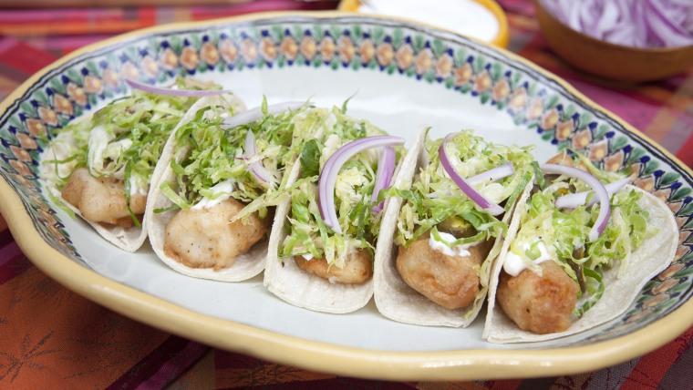 Marcela Valladolid's Ensenada-Style Fish Tacos
