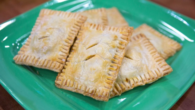 Justin Chapple's back to school hacks. Taco Tarts
