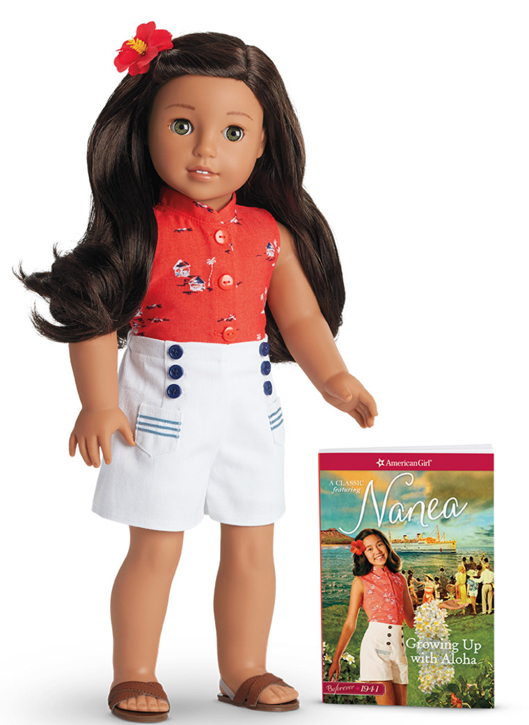 American Girl's latest doll, Nanea, was released in stores and online on August 21, 2017.