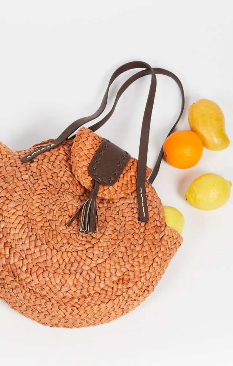 Haven Straw Tote